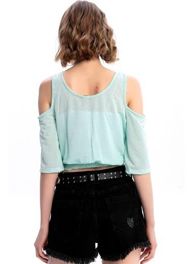 Emjey Bluz Yeşil